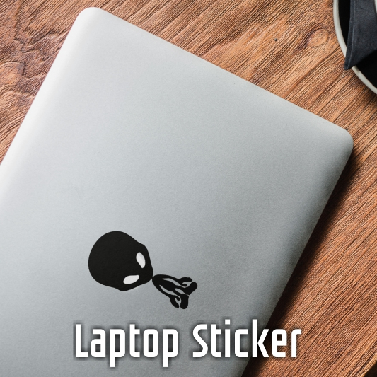 mobile laptop sticker
